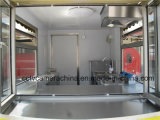 Горячие продавая передвижные тележки быстро-приготовленное питания для сбывания (SHJ-CR320)