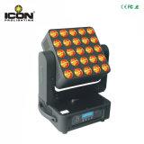 25X10W RGBW 4en1 Matrice de pixels LED Mural tête mobile