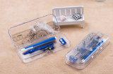 Nieuwe 7 PCs Plastic die Math van Haiwen in Zak OPP wordt geplaatst