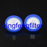 Filtre de seringue en nylon jetable de 13 mm / 25 mm pour la filtration de laboratoire