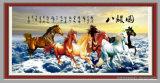 Décoration instantanée de papier ondulé de chevaux de la décoration 8 de maison de modèle de réussite/papier de tuyautage/papier de sertissage