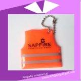 De de weerspiegelende Sleutelring van de Tegenhanger/Hanger van de Zak voor Vervoer Ksv017-007