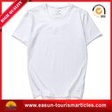 T-shirt blanc du coton 100 avec le prix de gros