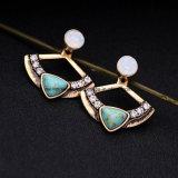 Preiswerte fächerförmige hängender Ohrring-Form Jerwelry für Mädchen