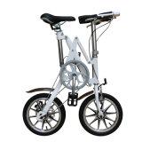 Einzelne Rad-kleines Aluminiumlegierung-faltendes Fahrrad der Geschwindigkeits-zwei für Großverkauf