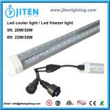 V-Form 30W löschen Kühlvorrichtung-Gefäß-Licht-Gefriermaschine-Licht UL ETL Dlc des Deckel-T8 6FT LED