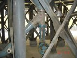 Y 유형 탱크 바닥 각 슬러리 배출 밸브