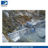 A máquina de perfuração para extracção de pedra