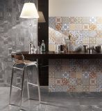 Azulejo de suelo de porcelana para seis pisos de cemento para tienda departamentales