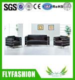 Sofá moderno de cuero de la PU de la oficina y del Hogar-Uesd para la sala de reunión (OF-19)