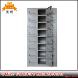 24 cacifos de aço do metal dos gabinetes de armazenamento da ginástica da porta