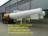 Semi-remorque de transport de boue 30000L