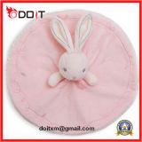 Cobertor macio feito sob encomenda do Comforter do bebê do brinquedo do luxuoso do coelho do urso dos desenhos animados