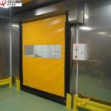 産業ステンレス鋼のクリーンルームの自動速い代理のドア