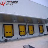 Дверь гаража дистанционного управления промышленная секционная алюминиевая автоматическая