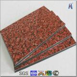 Samengesteld Comité 4mm van het Aluminium van het Patroon van de steen