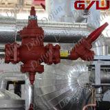 Kohlenstoffstahl flanschte Eingangs-Druckregelventil
