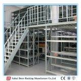 Tipo pesado de acero tormento del almacén del estante del entresuelo del equipo del almacenaje de la buena calidad del almacenaje