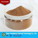 Sodio concreto Lignosulphonate de la adición para el agua que reduce (lignosulfonate)
