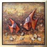 Abstract Olieverfschilderij - Nieuw Ontwerp (DSC02545)