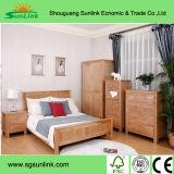 중국 호화스러운 단단한 나무 침실 호텔 가구 (LX-8L4J)