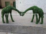 Het bruine Model van de Kameel van het Gras voor de Decoratie van de Tuin