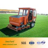 Máquina diesel del Infill y del cepillo para la instalación artificial del césped de la hierba, mantenimiento