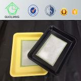 Seguridad Alimentaria Grado encargo de plástico PP / animal envase de alimento de carne de aves con almohadilla absorbente