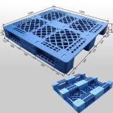 Pálete plástica do HDPE da capacidade de carga pesada com câmaras de ar de aço para dentro