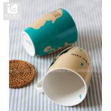 中国の磁器のコーヒー・マグはロゴによってカスタマイズされるボリュームを所有する