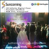 Huwelijk, Night Club 3D Infinite LED Dance Floor