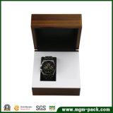 Doos van het Horloge van het Embleem van de douane de Vierkante Houten