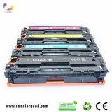 Ursprüngliche Farben-Laser-Toner-Kassette Ce320A/Ce321A/Ce322A/Ce323A 128A für HP-Druckereinschub