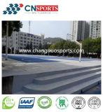 Rolo de silicone revestido Pavimentos desportivos de poliuretano com bom desempenho