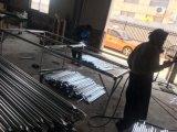 6FT x 12FT Ineinander greifen 57mm x 57mm x 2.70mm Durchmessertemp-Zaun-Panels