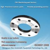 Pièces de rotation de usinage de commande numérique par ordinateur de précision faite sur commande de la bonne qualité SUS316 d'usine
