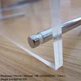 Support d'affichage en acrylique transparent avec vis