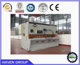 Scherende Maschine der hydraulischen Guillotine-QC11Y-8X4000, Stahlplatten-Ausschnitt-Maschine