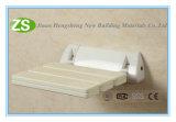 Mejor silla de minusválidos bariátrica montado en la pared del asiento de ducha plegable