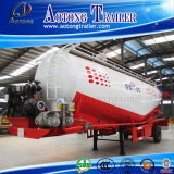 Aanhangwagen van de Tank van het Vervoer van het Poeder van de lage Dichtheid de Materiële