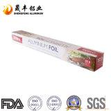 Алюминиевая фольга сервиса связанного с питанием для упаковки еды