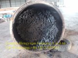 Mattonelle di legno del carbone di legna della buccia del riso del combustibile biologico che fanno riga