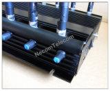 12 canaux de toutes les bandes Téléphone cellulaire Jammer / Blocker; 2g + 3G + 2.4G + 4G + GPS + Lojack + CDMA450 Isolateur de signal pour téléphone mobile