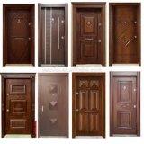 Puerta cortafuego de madera maciza con certificación UL estándar y BS