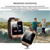 Wristwatch Bluetooth Android спорта франтовской с камерой и здоровьем Dz09