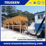tipo planta do transporte de correia 60-180cum de mistura concreta