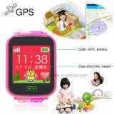 Reloj colorido del perseguidor del GPS de la pantalla para los cabritos con SOS Boutton Y9