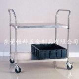 Carrello medico in acciaio inox a 2 livelli (HK-SS-MT02)