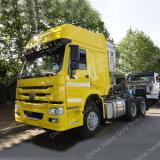 HOWO 6X4トラック60トンの371HP Hw76/Hw79のトラクターの