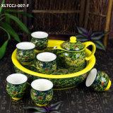 Insieme di tè della porcellana di disegno di modo della fabbrica